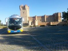 Autocares Carrera en Castillo de la Mota #Autocar #autobus #alquilerautobus…