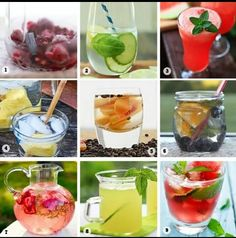 Cut down on sugary drinks & sodas with this delicious natural fruit drinks!! Stay hydrated for the summer!