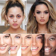 Pilzkopf Luftkissen CC Creme – WunderWild Cc Creme, Unique Makeup, Uneven Skin Tone, Younger Looking Skin, Skin Elasticity, Liquid Foundation, Tips Belleza, Acne Scars, Beauty Skin