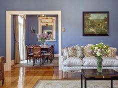 Beige & Blue living room