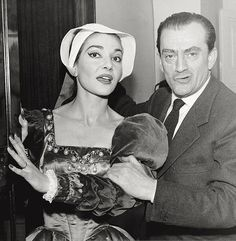 Callas as Anna Bolena with Visconti
