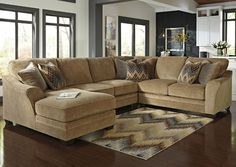 Lonsdale Barley Left Arm Facing Chaise End Sectional,Benchcraft