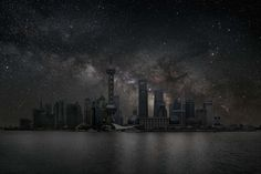 Stunning Photos of Cities Without Light Pollution  © Thierry Cohen, San Francisco 37° 48' 30'' N 2010-10-09