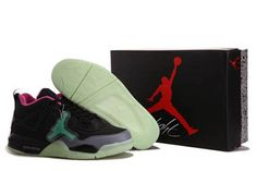 more photos 8ea52 26858 Nike Jordan 4 BlackGreyPink Glow In The Dark Pink Black, Black And Brown,  Jordan