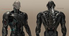 Ultron concept drawings (ILM)