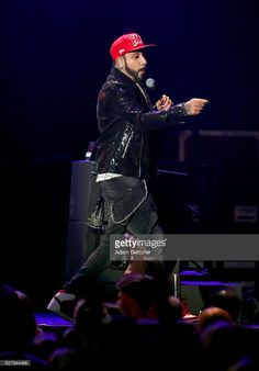 A. J. McLean of the Backstreet Boys performs onstage during 101.3 KDWB's Jingle Ball 2016 presented by Capital One at Xcel Energy Center on December 5, 2016 in St Paul, Minnesota.