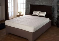 4ft6 x 7ft Long Visco Dream 500 Mattress - £649.95 - A superb Visco memory foam mattress.  The mattress measures 20cm in depth and is made up of a high density reflox foam base with a 50mm memory foam sleeping surface. This offers superb pressure relieving properties combined with outstanding support.  The mattress has a zip and wash cover. Ottoman Storage Bed, Bed Storage, Foam Mattress, Bed Frame, Memory Foam, Beds, Surface, Zip, Cover