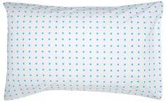 BLUE SPOT PILLOWCASE Rachel Castle 0410 705 253  CASTLE P.O.BOX 618 NORTHBRIDGE NSW 1560  hello@castleandthings.com.au