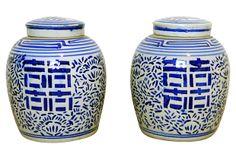 Ginger Jars, Pair on OneKingsLane.com