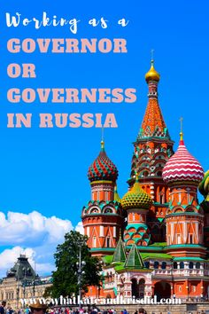 Working as an English language governor or governess in Russia - Work Abroad, Nice France, Teaching Jobs, 10 Year Old, France Travel, Teaching English, English Language, Russia, Check