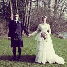 Mariages Rétro: Ces mariages qui font rêver : Helen et Nick
