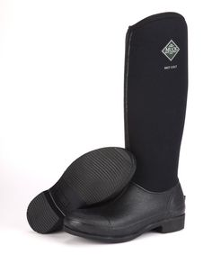 Look at this The Original Muck Boot Company Black Tall Colt Rain Boot on #zulily today!