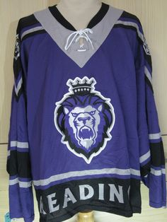 f5dc68c24 Vintage Reading Royals ECHL usa nhl ice hockey nhl jersey shirt long sleeved  made in usa size mens XXL