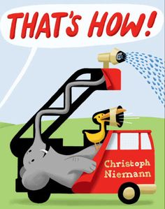 How do airplanes, trucks, boats, and other big rigs work? The ingenious Christoph Niemann has the surprising (and funny!) answers in this preschool picture book about transportation (and imagination)!