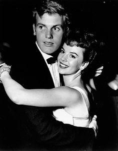 Tab Hunter and Natalie Wood, 1956