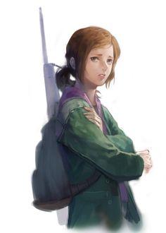 Ellie, The Last of Us.