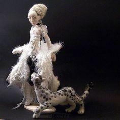 needle felted art doll by FELTOOHLALA | Flickr - Photo Sharing!