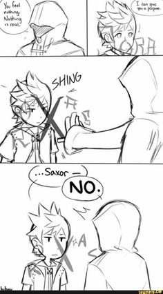 LOL what it looked like from Roxas side I'm dying XD Kingdom Hearts 3, Video Game Art, Video Games, Heart Pictures, Vanitas, Best Games, Final Fantasy, Sora, Fan Art