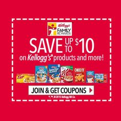 a95bf2b272a0 Join Kellogg s Family Rewards Program for free and get Coupons