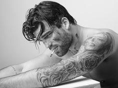 Greek model Dimitris Alexandrou by Yiorgos Kaplanides ~ Law and Fashion -Criminal Intent-