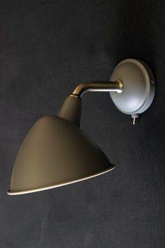 Mid Century Style Charcoal Grey Wall Light - Wall Lights - Lighting