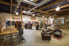Burton Snowboards Showroom - Costa Mesa, CA on Interior Design Served