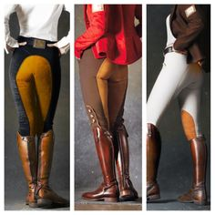 The most important role of equestrian clothing is for security Although horses can be trained they can be unforeseeable when provoked. Riders are susceptible while riding and handling horses, espec… Equestrian Chic, Equestrian Outfits, Equestrian Fashion, Horse Riding Gear, Riding Boots, Horse Fashion, English Riding, Hot Girls, Clothes Horse