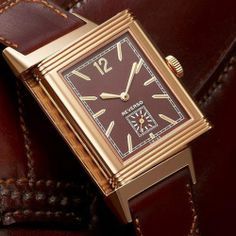 On the occasion of the 80th anniversary of this timepiece that has become a cult object, Jaeger-LeCoultre chose to return to the very origins of a legend by presenting the Grande Reverso Ultra Thin Tribute to 1931, directly inspired by the aesthetic codes of the historical model (Pre-SIHH 2014) Jaeger-LeCoultre Grande Reverso Ultra Thin 1931 (See more at: http://watchmobile7.com/articles/jaeger-lecoultre-grande-reverso-ultra-thin-1931) #watches #jaegerlecoultre @Garrett Murphy…
