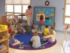 Tips and ideas for setting up circle time