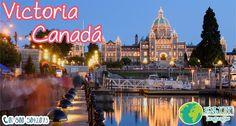 #DestinoDelDía  #Victoria  #Canadá es un destino ideal para disfrutar de un sinnúmero de actividades en cualquier temporada del año. Al llegar a esta ciudad cosmopolita, inmediatamente notará los vivos colores de sus jardines y antiguos y modernos edificios. #EnjoyLanguages #Travel #Explore #EstudiaenelExtranjero