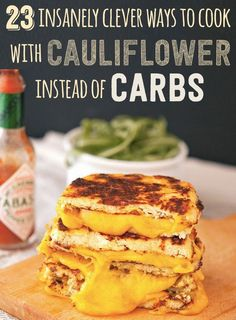 23 Insanely Clever Ways To Cook With Cauliflower Instead Of Carbs