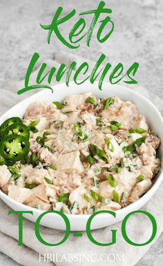 Take your keto diet with you on the go with the best packable keto lunches so you can stay on track with your weight loss and healthy living. Keto Recipes for Lunch Keto Lunches for Work Keto Lunches for School Low C Low Carb Lunch, Low Carb Keto, Receitas Crockpot, Keto Diet Side Effects, Keto Lunch Ideas, Lunch To Go, Keto Meal Plan, No Carb Diets, Best Diets