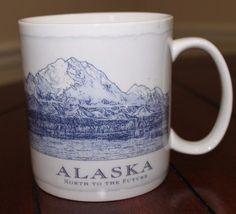 2006 Starbucks Coffee Alaska Misprint Architecturw Collection Mug 18oz Cup #Starbucks