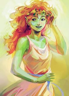 Juniper – Rick Riordan | art by viria