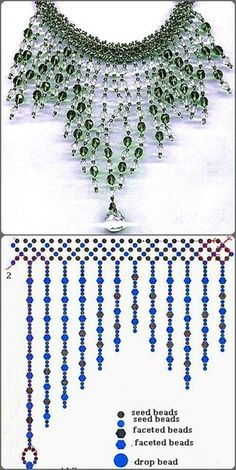 making beaded jewelry Diy Necklace Patterns, Beaded Earrings Patterns, Beaded Jewelry Designs, Bead Jewellery, Jewelry Making Beads, Beaded Bracelets, Jewelry Ideas, Diy Jewelry, Handmade Jewelry