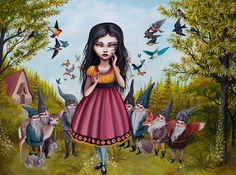 Snow White by Mab Graves