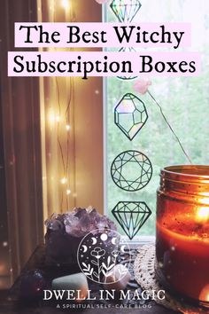 A list of the best witch subscription boxes currently on the market #dwellinmagic #witchbox #witchybox #witchsubscriptionbox