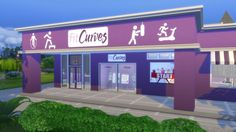 The Gym FitCurves by Mykuska at Mod The Sims via Sims 4 Updates