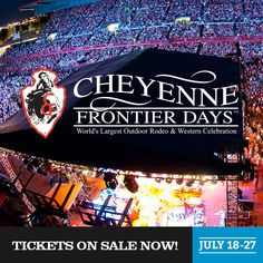 Cheyenne Frontier Days This would be so fun to go to I want to ride a bull (I think)! #microcation