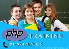 #PHP training in Bangalore with internship opportunity – Live projects | free Demo classes ...Register now!! Web : www.be-practical.com @bepracticalbangalore