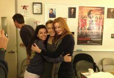 Marcia Cross, Eva Longoria, and Felicity Huffman