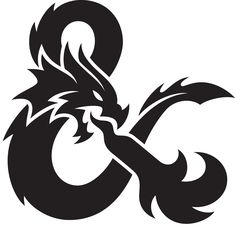 new logo for dungeons & dragons | by glitschka studios