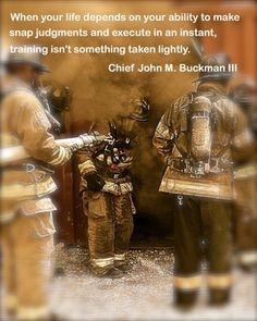 Firefighter Training Let It Make The Difference Fire Fighter Close Calls.com