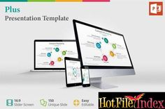 Plus  Presentation Template From HotFileIndex