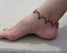Beaded Anklet Bracelet Beach Anklet Seed Bead Anklet Foot Jewelry Anklets for Women Gift Ideas For Her Anklet Bracelet, Anklet Jewelry, Beaded Bracelet, Chan Luu, Compass Tattoo, Beach Anklets, Women's Anklets, Gold Anklet, Silver Anklets