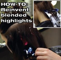 HOW-TO: Blended highlight technique