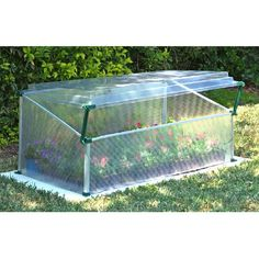 "Found it at Wayfair - Single 18"" H x  3'5"" W x 22"" D Polycarbonate 0.8 mm Cold Frame Greenhousehttp://www.wayfair.com/daily-sales/p/Winter-Gardening-Go-Tos-Single-18%22-H-x--3%275%22-W-x-22%22-D-Polycarbonate-0.8-mm-Cold-Frame-Greenhouse~PY1056~E15244.html?refid=SBP.rBAZEVRWaMq3bUNxZlX1AoSf2TXKRkm1itZmtVWR2BA"