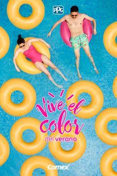 Aprovecha los días de verano que quedan y déjate cautivar por sus colores.#ViveElColorDelVerano