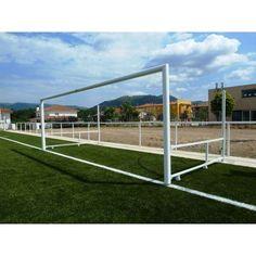 Porterías Fútbol 11 Aluminio 120x100 Abatibles