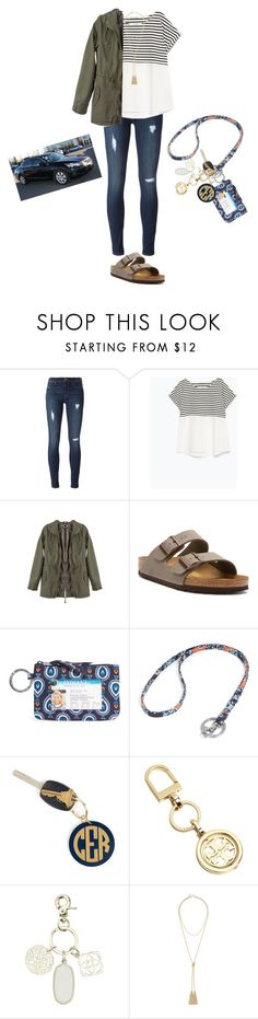 """I'm getting a car at 15!!"" by kyleemorrison ❤ liked on Polyvore featuring Hudson, Zara, Birkenstock, Vera Bradley, Hartford, Tory Burch, Kendra Scott and BCBGMAXAZRIA"